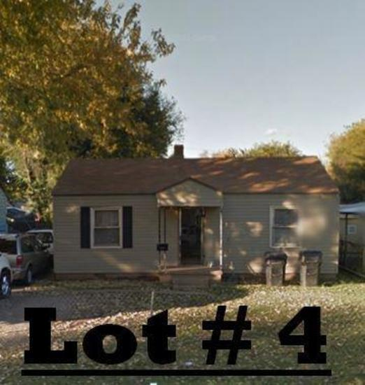 LOT# 4 - 3009 SW 20th, OKC - 3 bed 1 bath, inside utility, living room and large kitchen. Rents for