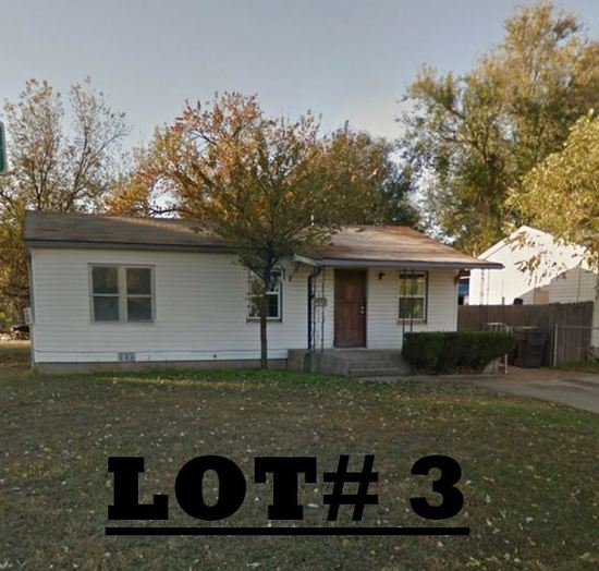 LOT# 3 - 4000 SW 26th, OKC - 3 bed 1 1/2 bath, large corner lot, living room, inside utility & extra