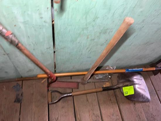 Shovel, Yo-yo, Pick & Hoe