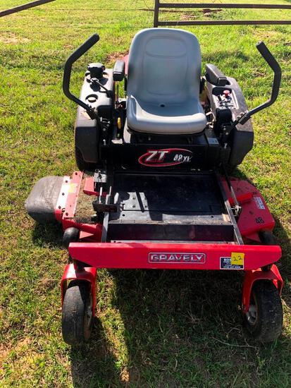 """Gravely 48XL Zero-Turn Mower - 48"""" Deck"""