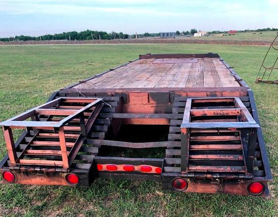 Carrier King Trailer 20+5 Tandem - 10,000lb Axles - All New Tires Including Spare - Pintle Hitch -