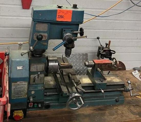 Smithy Lathe Mill Drill w/Tooling & Clamps