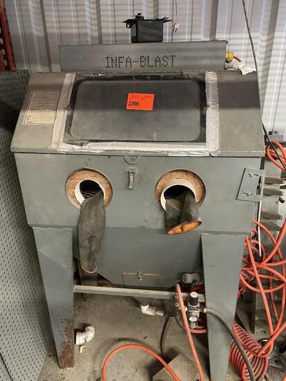 Infablast Sand Blaster Cabinet