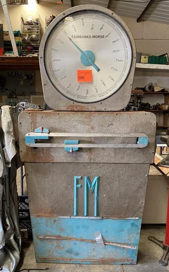 Fairbanks Morse 6500 lb Scale