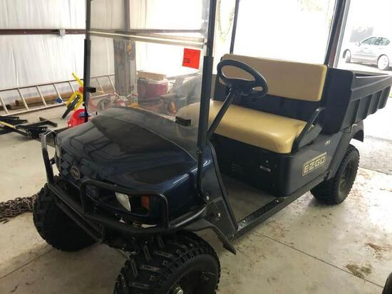 EZ-GO ST-400 Gas Golfcart - Dump Bed, Good Tires & Excellent Condition - No Title