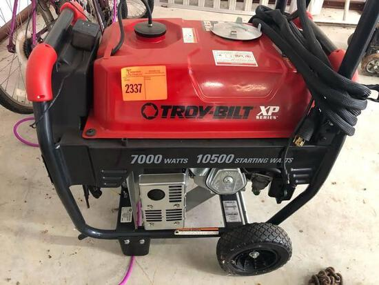 Troy-Bilt XP Series Gas Generator - Electric & Pull Start - Like New