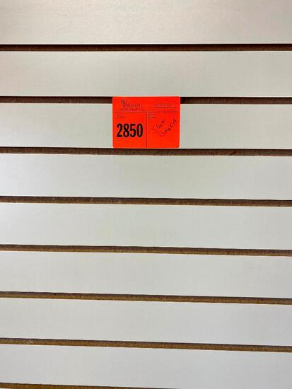 Used Slat boards for displays - (Buyer to remove from walls) 8 = 8' wide by 4' tall (two with outlet