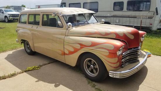 1949 Plymouth Suburban - Dodge Magnum - 56,000 Miles, 3.9L Motor & Runs!