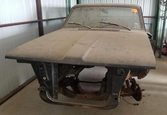 1963 Plymouth Valiant Wagon Shell with Lots of Parts - No title