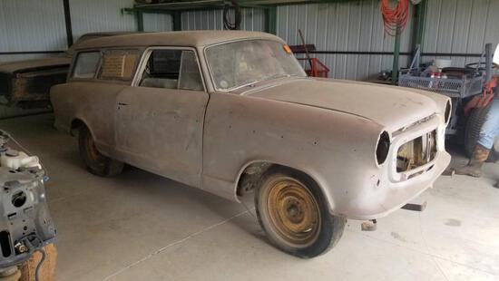 1957 English Ford Wagon Shell - No Motor - Bill of Sale