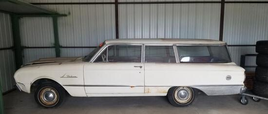 1962 Ford Falcon - 2 Door Wagon - 3 on the Tree - 6 Cylinder - 94,425 Miles - Does Not Run - Maybe