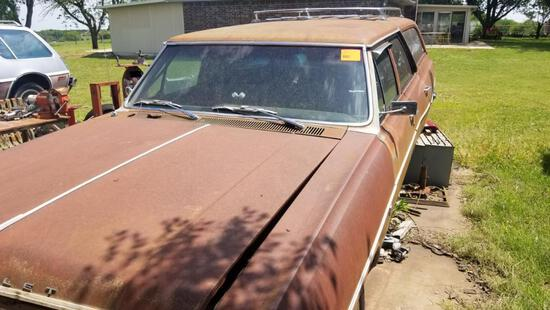 1964 Chevy Chevelle Wagon - 83,639 Miles - Missing some Parts - Has Title