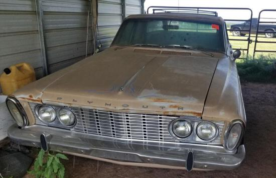 1963 Plymouth Fury - Total Car- Will Start & Not Keep Running