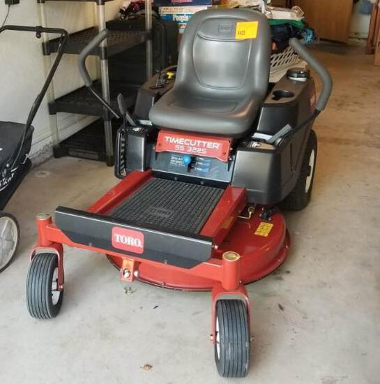 Toro Time Cutter Mower - 5S 3225 Zero-Turn 97 Hrs., 32 inch Cut , 1 Owner & Excellent Condition
