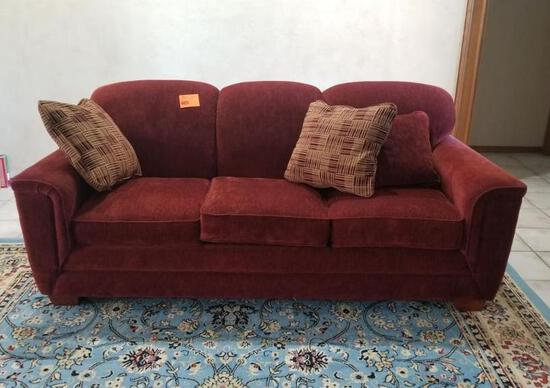 LA-Z-BOY Couch, Loveseat & Ottoman - Excellent Condition Bring help to load!