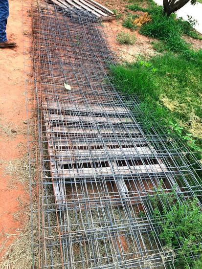 7 - 16ft Wire Panels