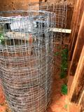 2 - Rolls Wire, 4 - Tpost & 3 - Tomato Cages