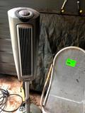 Electric Heater and Chair