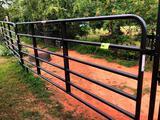3 - 12 ft. Fence Panels, 16 ft. Gate