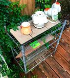 Plant Stand with Everything on it
