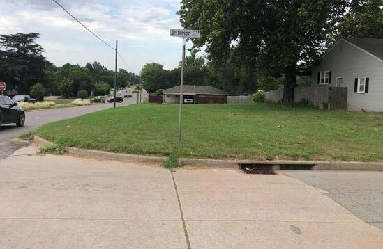 Corner Lot - NE Corner of Jefferson & Green - Lot 10 Block 79 Purcell, OK - Great Location with Lots