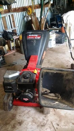Yard Machine Mulcher Chipper
