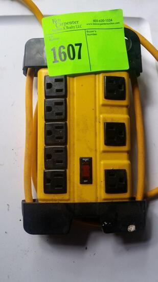 Bessten Heavy Duty 8 outlet power strip surge protector