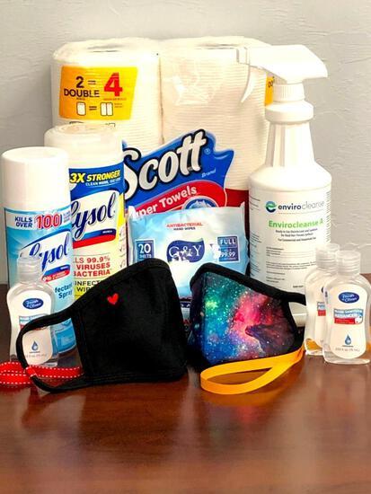Coronavirus Prevention Kit
