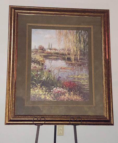 Iris Framed Wall Art