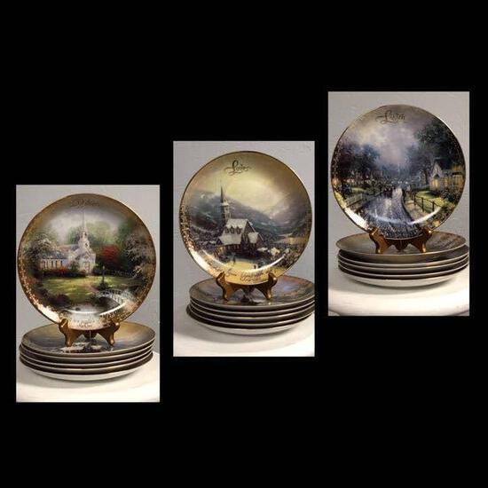 Thomas Kinkade Plate Collection
