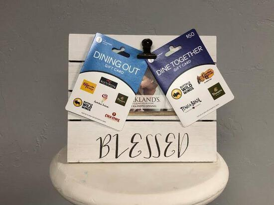 """""""Blessed"""" Dinner & Picture Clip Package"""