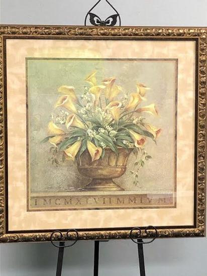 Calla Lilies Framed Wall Art