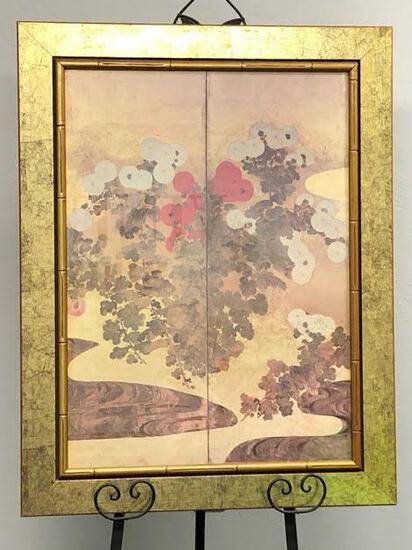 Oriental Poppies Framed Wall Art