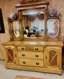 Carved Wooden Dresser