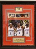 OKC's Big Three Collage Framed Collage