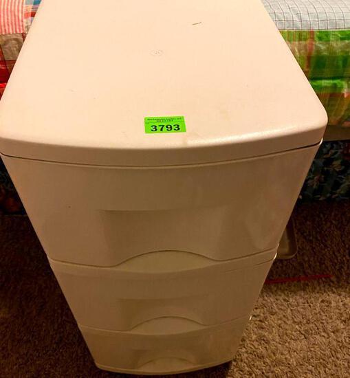 3 Drawer Storage Cady