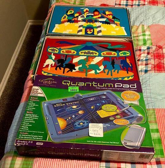 Quantum Pad/ Foam Puzzles
