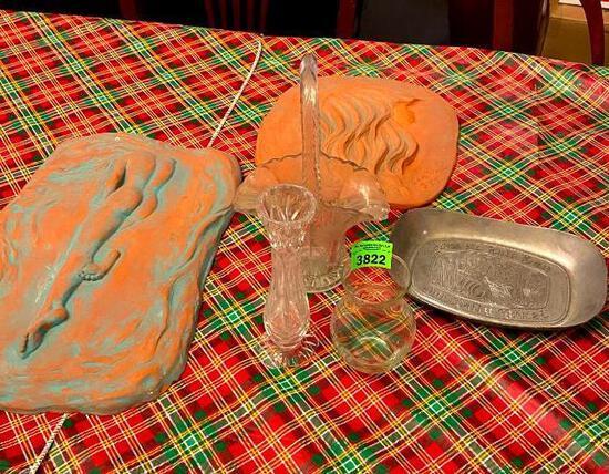 Clay Molds/ Glassware