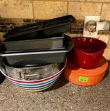 Baking Dishes / Tortilla Holder