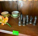 Bells, Cups, Saucers
