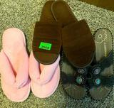 Slippers - 10, Sandals - 10