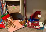 Christmas Bows, Paper, Bags, Misc
