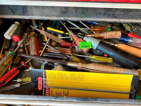 Assorted Screwdrivers & More