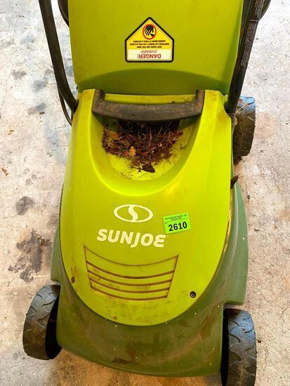SunJoe Push Electric Mower