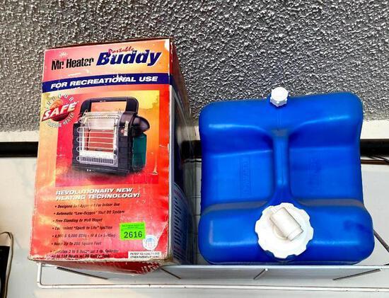 Portable Heater & Water Jug
