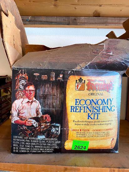 Economy Refinishing Kit