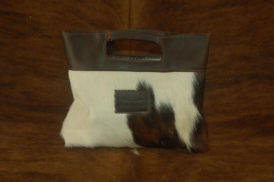 Cowhide Leather Simple Tote