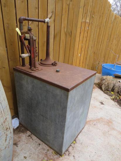 gilbert and barker self-measuring pump