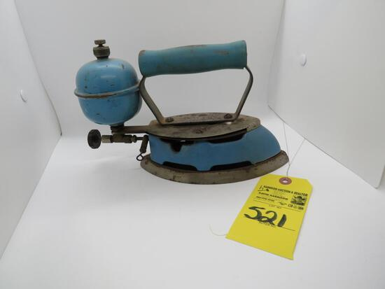ANTIQUE IRON WITH STAND