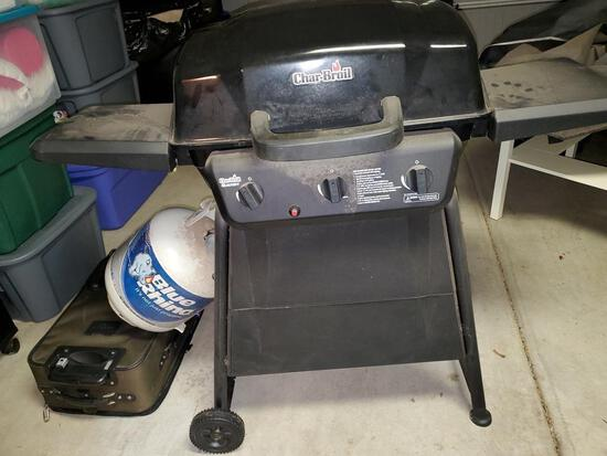 Charboil Gas Grill With Cover